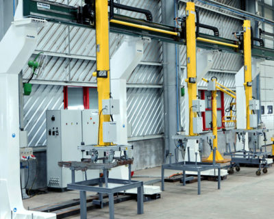 Gantry Systems for transfer of Automotive Doors
