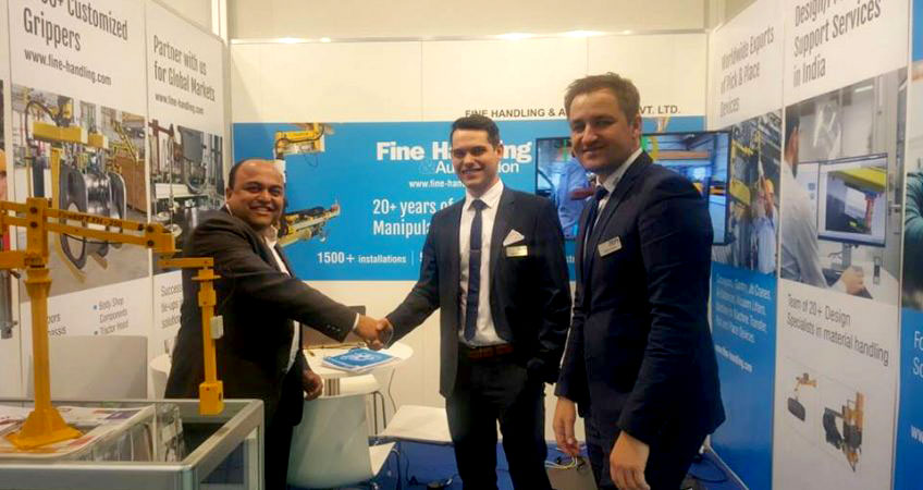 Innovative Industrial Manipulators from Fine Handling at Hannover Messe, Germany